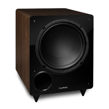 DB10 10-inch Low Frequency Ported Front Firing Powered Subwoofer (Walnut)