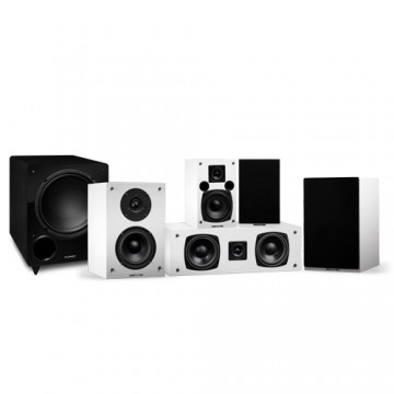Elite High Definition Compact Surround Sound Home Theater 5.1 Channel Speaker System