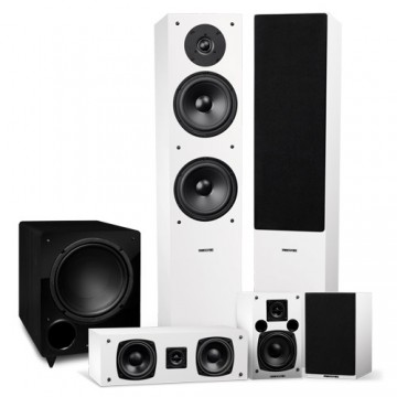 Elite Surround Sound Home Theater 5.1 Channel Speaker System