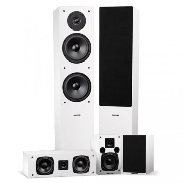 Elite Surround Sound Home Theater 5.0 Channel Speaker System