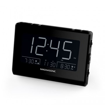 Alarm Clock Radio with USB Charging