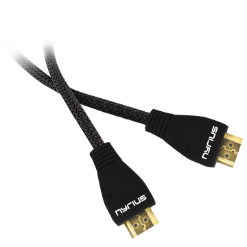 High Speed HDMI Cable (6 Feet) Supports 3D, Ethernet, & Audio Return