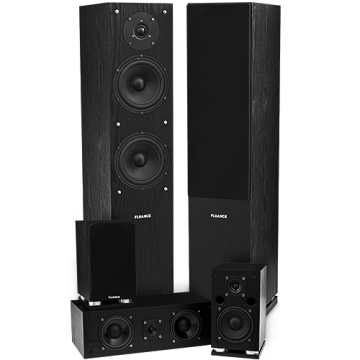 SXHTB High Definition Surround Sound Home Theater Speaker System