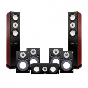 Reference Series 7.0 High Performance Surround Sound Home Theater Speaker System