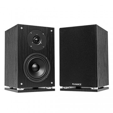 SX6 High Definition Two-way Bookshelf Loudspeakers - Black Ash