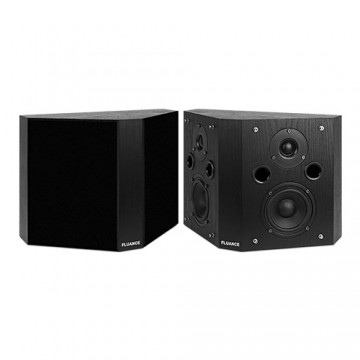 SXBP High Definition Bipolar Surround Sound Speakers -  Black Ash