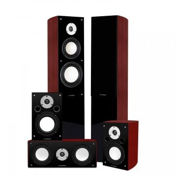 XL5HTB High Performance 5.0 Surround Sound Home Theater Speaker System