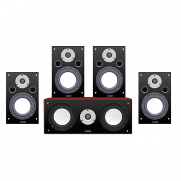 Reference Series 5.0 Compact Surround Sound Home Theater Speaker System
