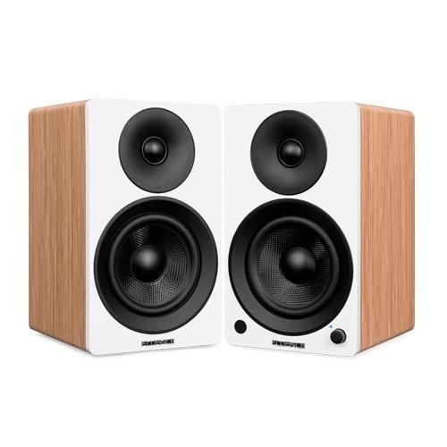 """Ai41W Powered 5"""" Stereo Bookshelf Speakers"""