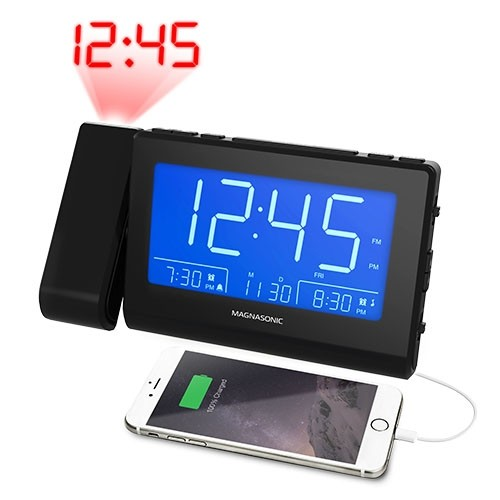 Bluetooth Speaker Alarm Clock Radio - Small Image