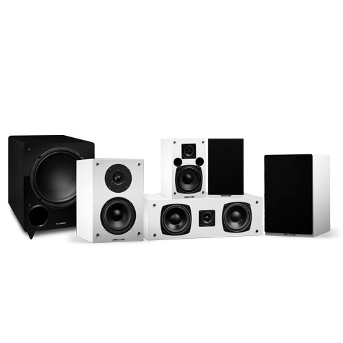 Elite Series Compact Surround Sound Home Theater 5.1 Channel Speaker System - Small