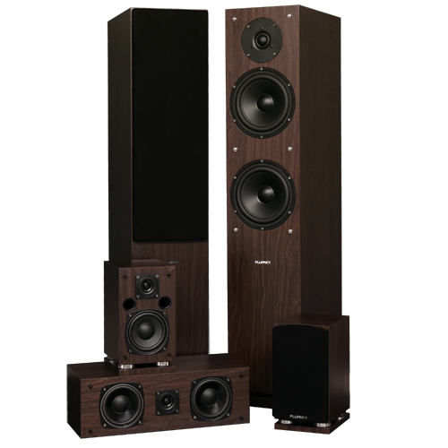 SXHTBW High Definition Surround Sound Home Theater Speaker System