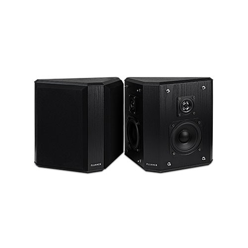 Fluance AVBP2 Main Speaker Set Black Ash