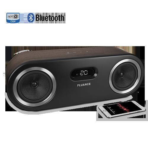 FI50B bluetooth speaker system walnut