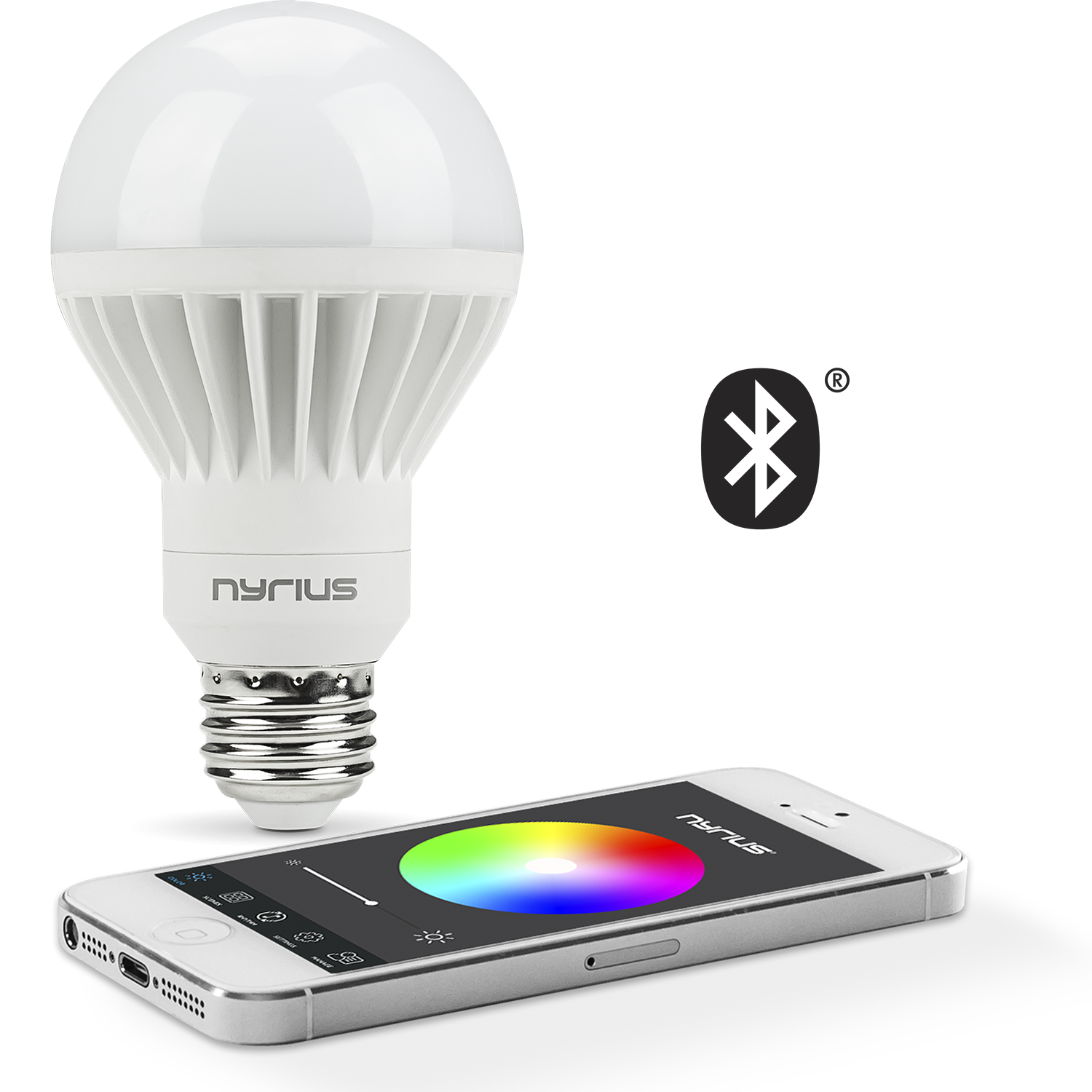 App controlled Wireless Bluetooth light