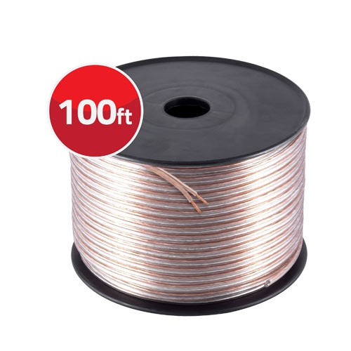 100' 12 Gauge High Flex Precision Audio Cable Ultra Speaker Wire