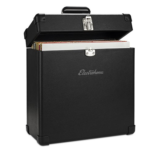Portable Vinyl Record Heavy Duty Carrying Case (Record Carry Case)