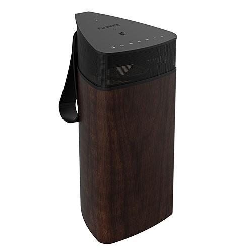 Fi20 High Performance Portable Wireless 360 Degree Speaker - Natural Walnut