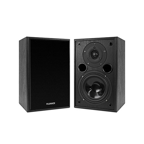 AV5 Powerful & Dynamic Two-way Bookshelf Speakers (Fluance - Passive Speakers)
