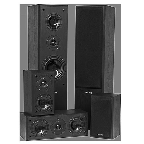 AVHTB Surround Sound Home Theater 5.0 Speaker System