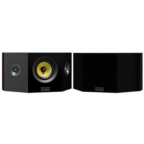 Signature Series Hi-Fi Bipolar Surround Sound Speakers - Natural Walnut