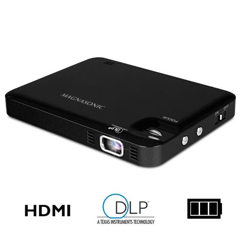 LED Pocket Pico Video Projector