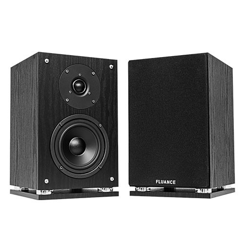 SX6 High Definition Two-way Bookshelf Loudspeakers - Black Ash
