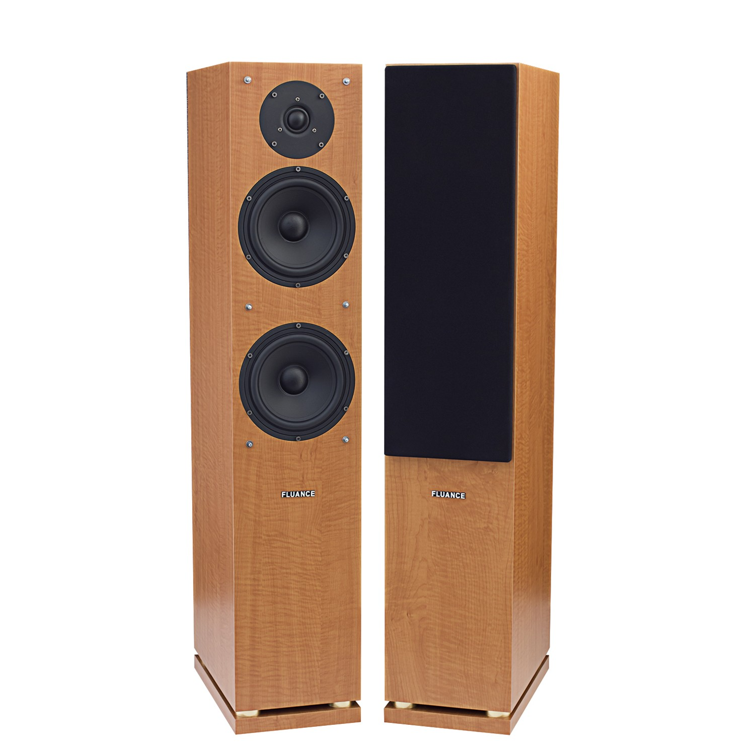 Fluance SX Series Beech Tower Speakers Alternate