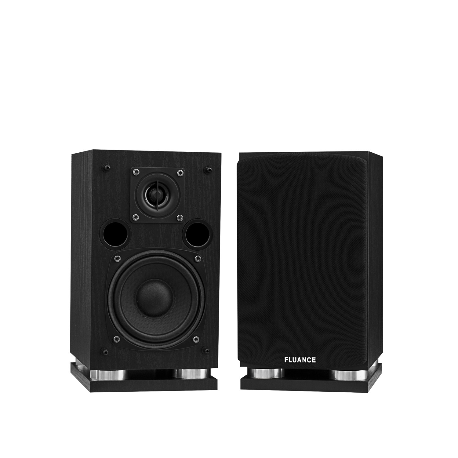 Fluance SX Series Surround Sound Speakers - Black Main Alternate