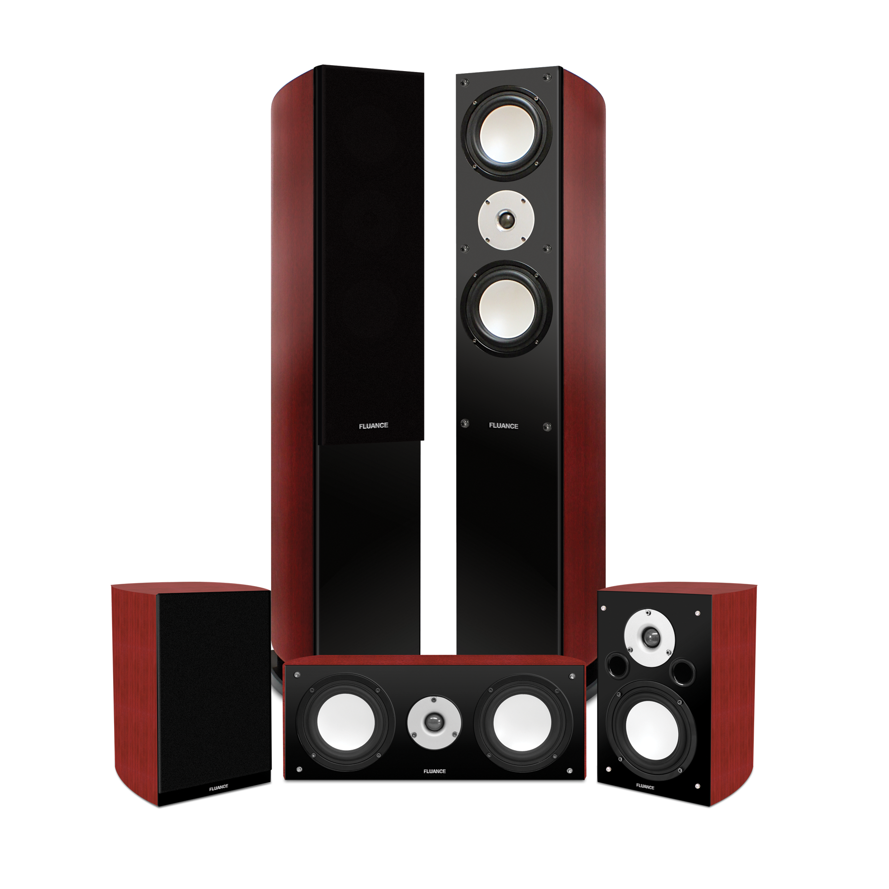 Fluance XLHTB Home Theater Speaker System