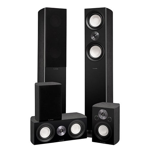 XL8HTB Reference Series Home Theater Surround Sound Speakers- Alternate 1