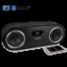 Fi50 Wireless Bluetooth Wood Speaker System Black