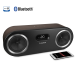 Fi50 Two-Way High Performance Wireless Bluetooth Wood Speaker System - Natural Walnut
