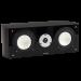 Fluance XL7C-DW two-way center channel speaker dark walnut
