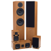 SX Series Home Theater Speaker Package in Beech
