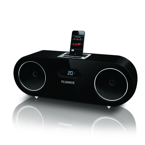 Two-way High Performance Wood Speaker Dock Music System for iPod/iPhone
