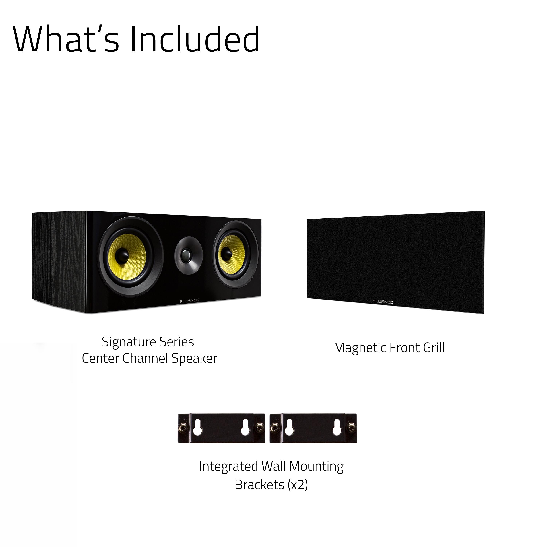 Signature Series HiFi Two-way Center Channel Speaker