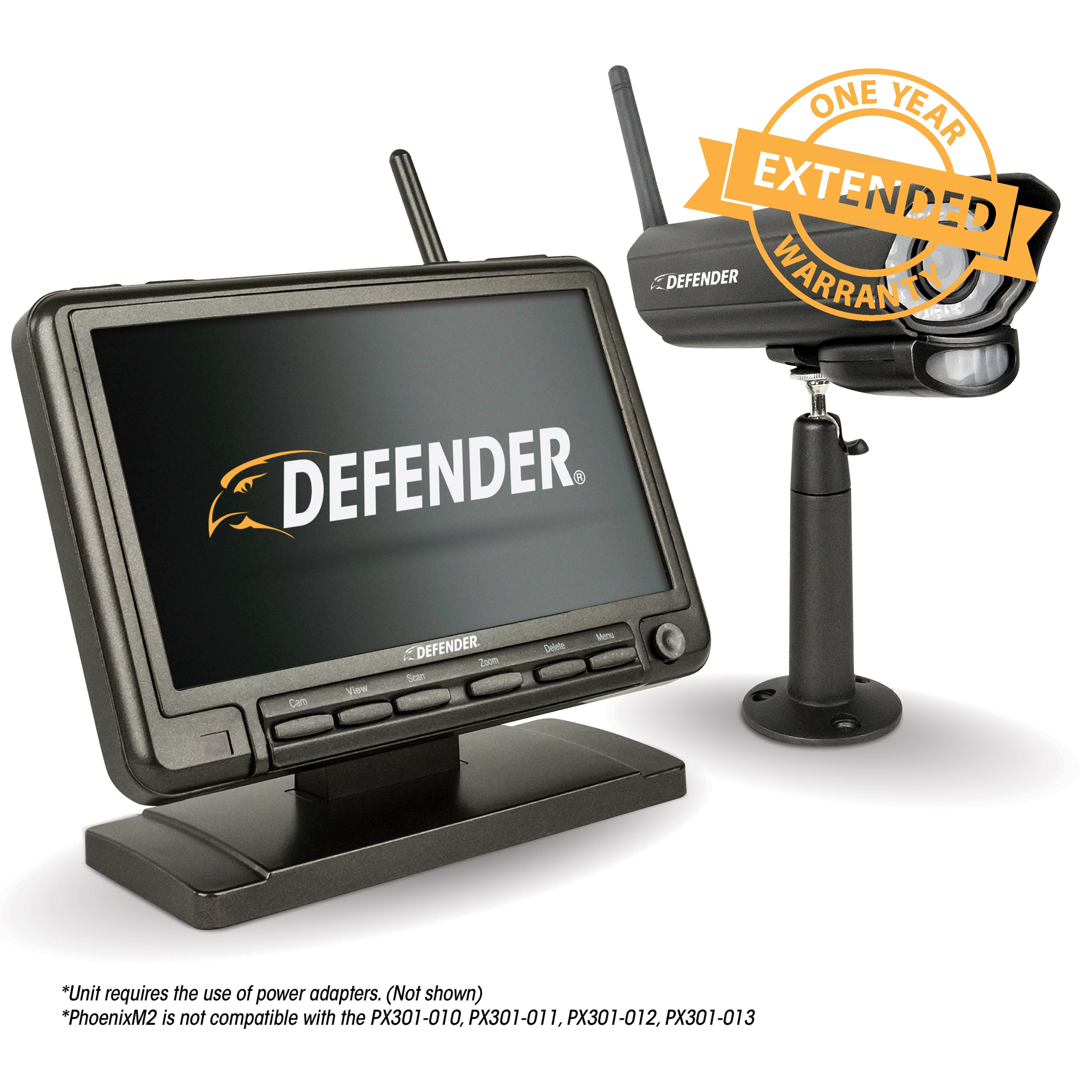 1 Year Extended Warranty for PhoenixM2 Defender Security System