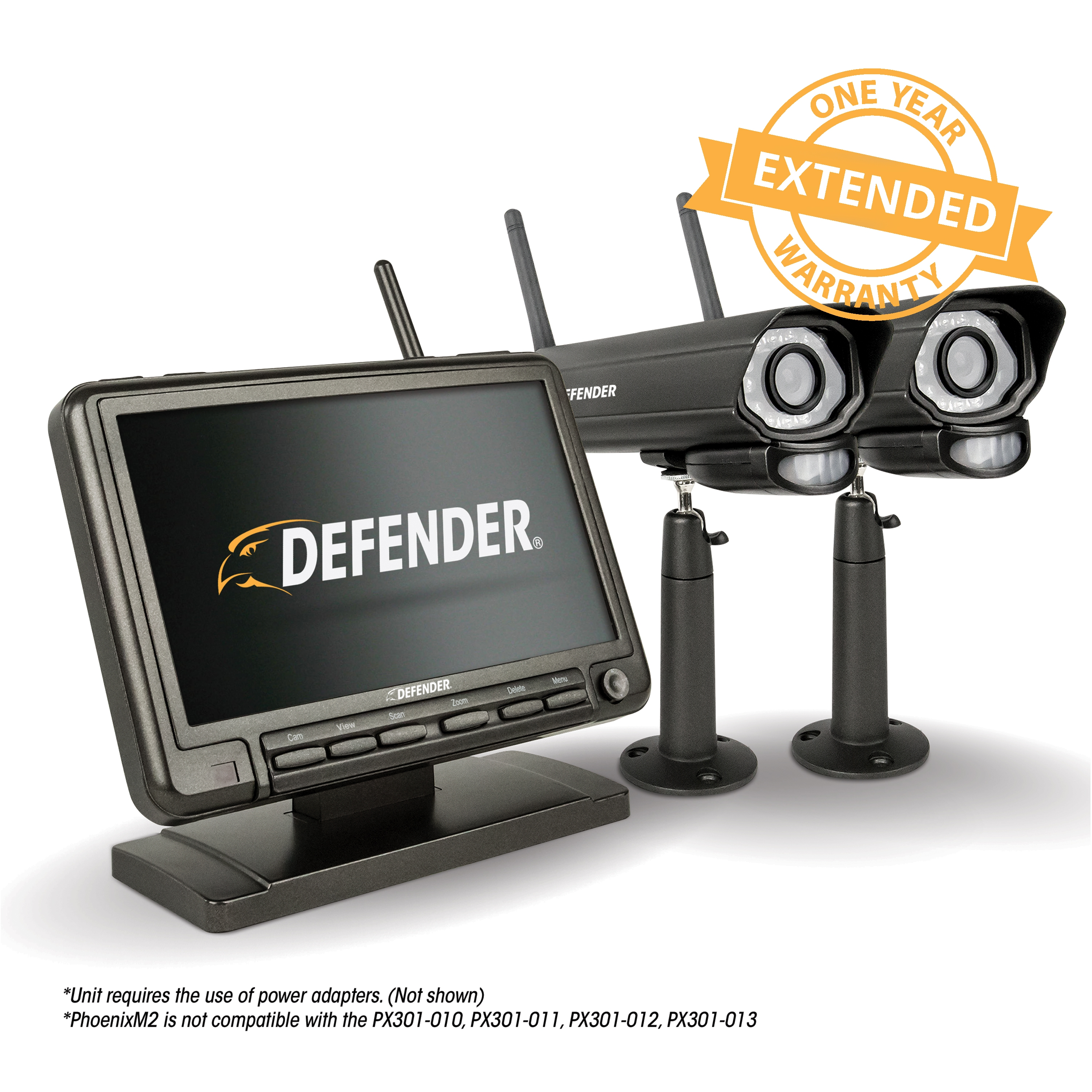 1 Year Extended Warranty for PHOENIXM22C Defender Security System