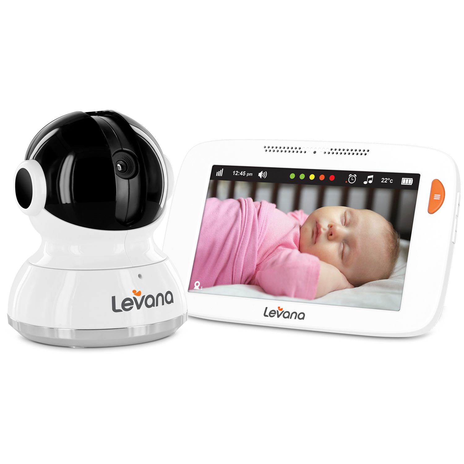 """Willow™ 5"""" Touchscreen PTZ Video Baby Monitor"""