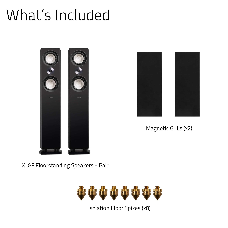 Reference High Performance 3-Way Floorstanding Loudspeakers