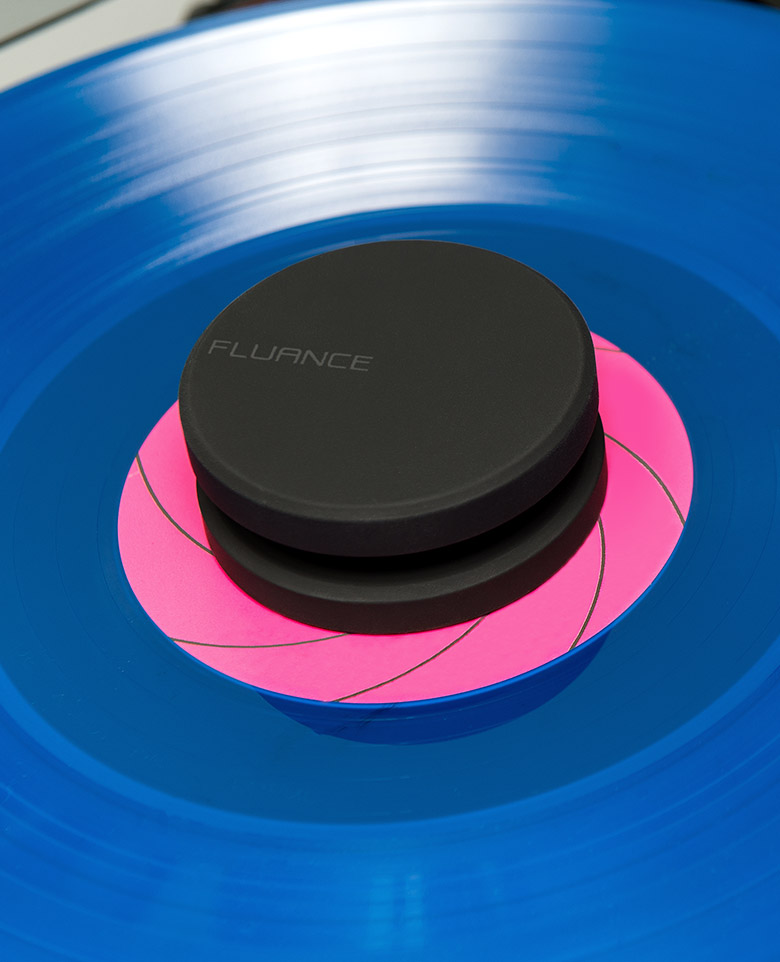 Fluance HiFi Vinyl Record Weight 760 Gram LP Disc Stabilizer Turntable Accessory