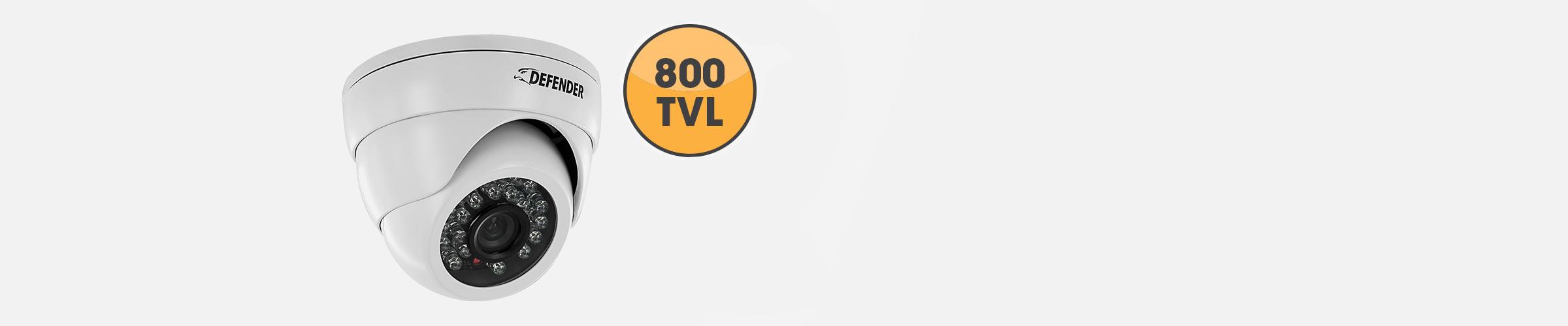 800tvl security cameras included