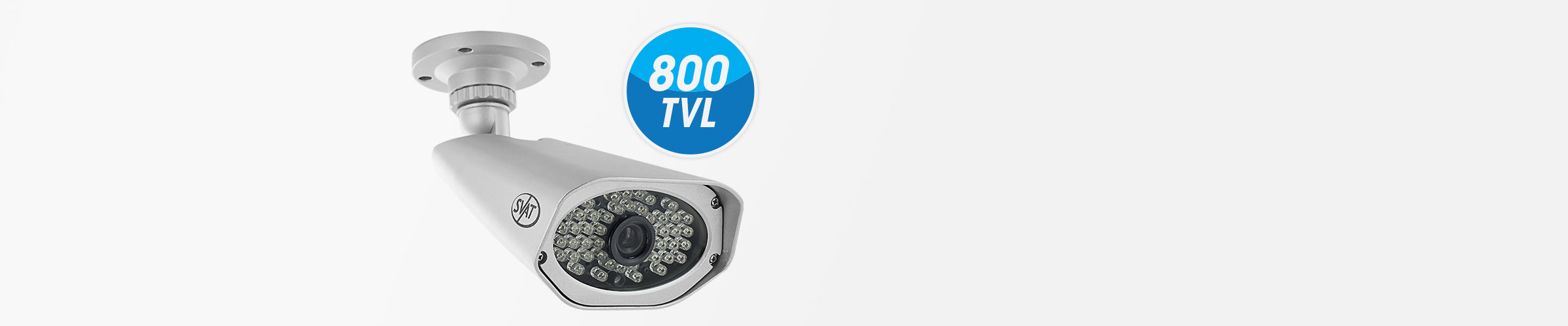 cameras included provide 800tvl for crisp smooth picture