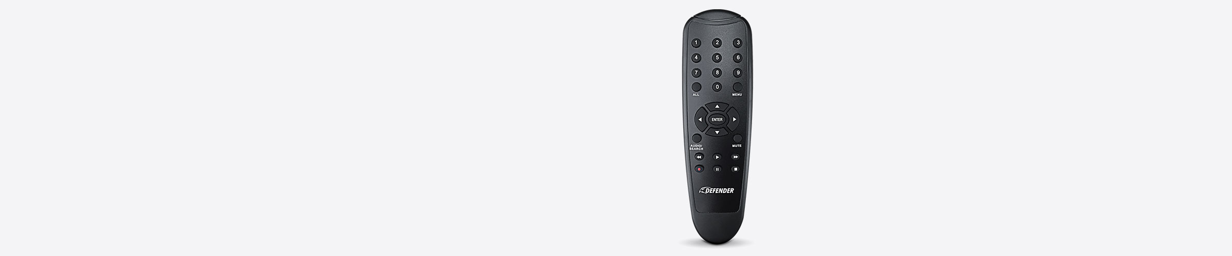 Replacement Remote Control with Batteries