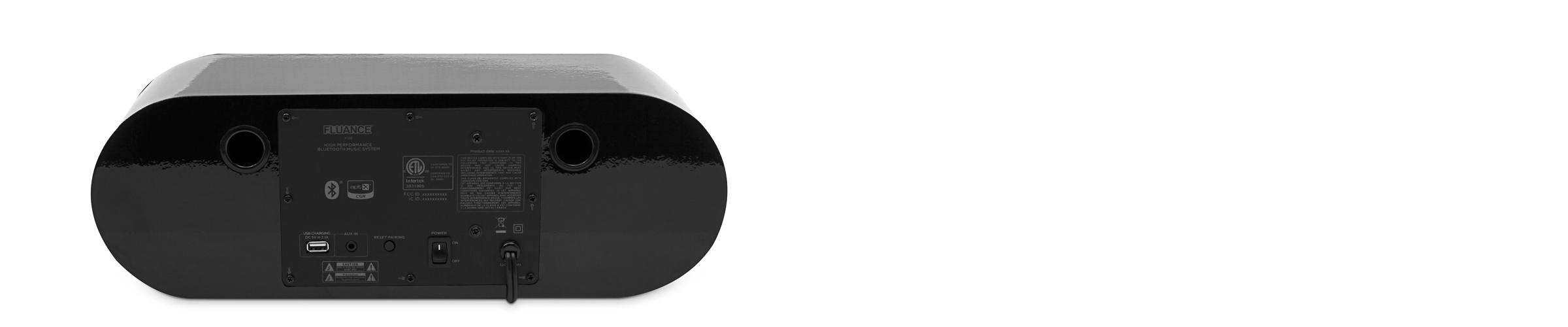 Fi30 bluetooth speaker back
