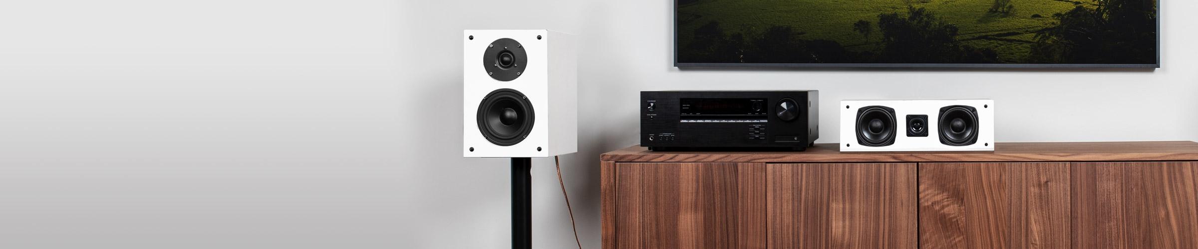 SX Center Channel Speaker Mdopern Design