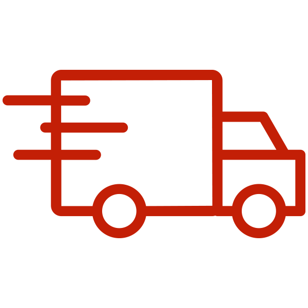 Icon of a truck driving